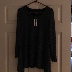 Grace Elements sparkly tunic top